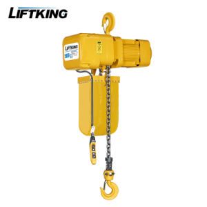 Liftking 415V 3 Ton Double Hook Japan Chain Kito Chain Electric Motor Winch Hoist pictures & photos