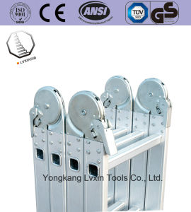 Easy to Use Folding Aluminium Ladder pictures & photos