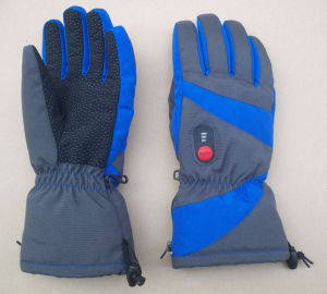 Rechargeable heated glove with 7.4V 2000mAh battery pack pictures & photos