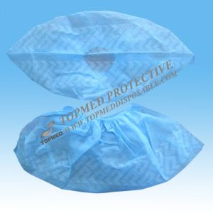 Disposable CPE Shoe Cover Machine Made for Cleaning Room pictures & photos