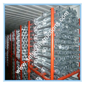 Safe SGS Passed Galvanized Scaffolding for Construction pictures & photos