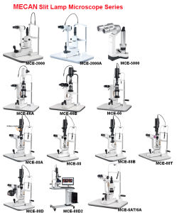 Ophthalmic Slit Lamp Two Magnification Slit Lamp Microscope pictures & photos