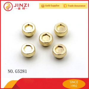 Jinzi Handbag Screw Shape Rivets Metal Decoractive Rivets pictures & photos