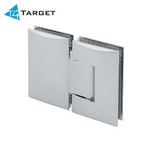 Glass to Glass 180 Degree Brass Shower Hinge (SH180-D) pictures & photos