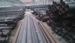 Hot Rolled Seamless Round Structure Steel Pipe Ss400 S235jo pictures & photos