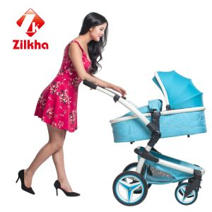 Baby Stroller with Anodizing/Power Coating Alu Frame, EVA Wheel pictures & photos