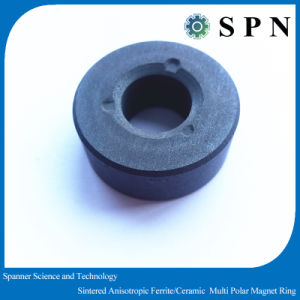 Ferrite Motor Ring Magnet Sintered Anisotropic Multipole Rings pictures & photos