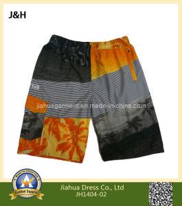 Men Polyester Swimming Cargo Shorts
