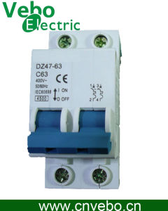 Circuit Breaker C45, Dz47-63, Oversea Used Model MCB pictures & photos