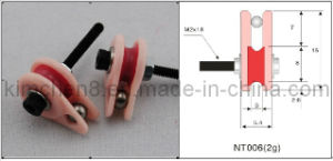 Caged Ceramic Pulley for Wire Jump Prevent Function (15*5.4*M2) pictures & photos