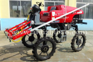 Aidi Brand 4WD Hst Farm Self-Propelled Boom Sprayer for Dry Farmland