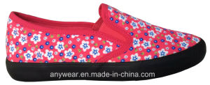 Ladies Womens Slip on Shoes Comfort Footwear (515-5660) pictures & photos