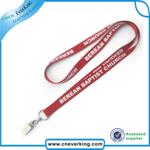 Custom 3D Printing Lanyards with Bulldog Clip pictures & photos