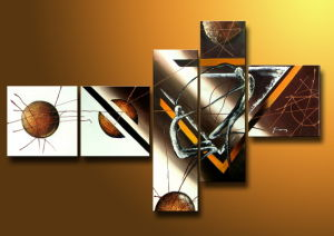 Combination Oil Painting of Abstract pictures & photos