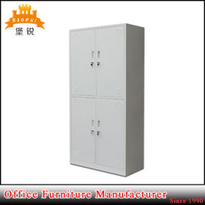 Living Room Furniture Four Door Metal Locker Clothes Wardrobe pictures & photos