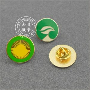 Enamel with Epoxy-Dripping Brass Badge, Metal Badge (GZHY-CY-040) pictures & photos
