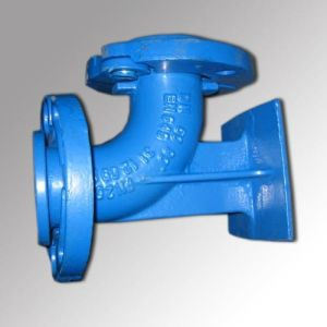 Ductile Iron Pipe/Fittings Double Flange 90 Degree Duck Foot Bend pictures & photos