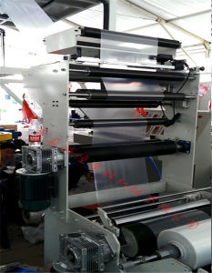 ABA Vertical Traction Rotary Blowing Film Machine pictures & photos