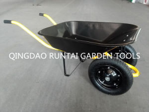 Two Wheels Strong and Hot Sale Wheelbarrow (WB6400) pictures & photos