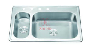 Stainless Steel Topmount Sink, Stainless Steel Sink ((D65) pictures & photos