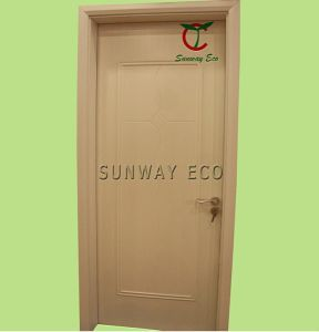 Eco-Friendly Painting Interior Safety Door WPC Door (TCD-10)
