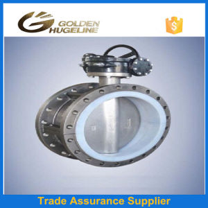 U Type Flange Dn150 Manual Control Butterfly Valve pictures & photos