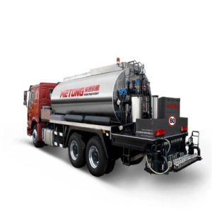 Road Construction Asphalt Heating Spraying Distributor Truck pictures & photos
