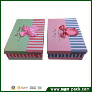 Wholesale Custom Storage Paper Gift Box pictures & photos