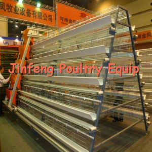 4tiers 128-160birds Poultry Cage Equipment for Chicken Farm Suppliers pictures & photos