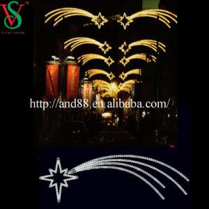 Street Christmas Decorative Fireworks Light Lamppost Motif Lights pictures & photos
