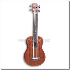 Sapele Plywood Body China Ukulele Bass (AUB-10) pictures & photos