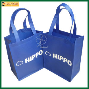 Cheap Custom Wholesale Non Woven Reusable Grocery Bags (TP-SP168) pictures & photos