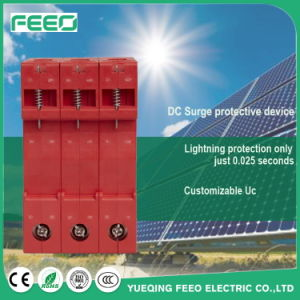 Photovoltaic 600V 1000V 2p 3p DC Surge Protective Device SPD pictures & photos
