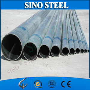Q235 4 Inch Diameter Pre-Galvanized Steel Round Pipe pictures & photos