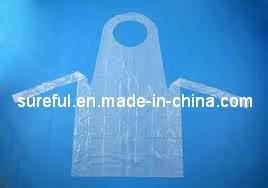 Disposable HDPE Apron/HDPE Disposable Apron pictures & photos