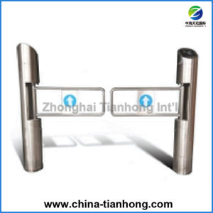 China Made Top Quality Super Market Swing Barrier Turnstile pictures & photos