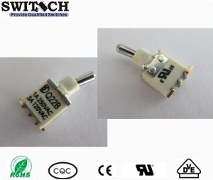 SGS Sealed Sub-Miniature Micro (SMT) Toggle Switches with Spdt