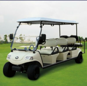 8 Seat Golf Sightseeing Car Electric Golf Cart (DEL3062G2Z) pictures & photos