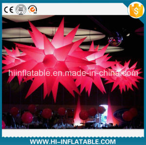 Hot Sale Color Changing Event Wedding Decoration LED Lighted Inflatable Stars for Sale pictures & photos