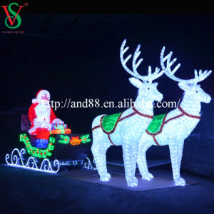 Hot Sale LED Rope Light Sculpture pictures & photos