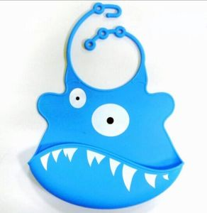 Waterproof Crumb Catcher Silicone Baby Bibs pictures & photos