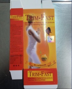 Trim Fast Herbal Extract Weight Loss Silmming Softgel Diet Pills pictures & photos