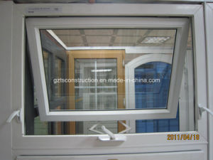 PVC Hand-Crank Operation Casement Windows (TS-154) pictures & photos
