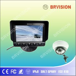 Bus Surveillance System /7inch TFT Digital Car Monitor /Dome Camera pictures & photos