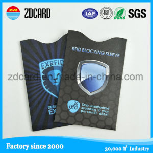 Travel Blocking RFID Credit Card Sleeve pictures & photos