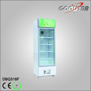 318L Ice Cream Display Upright Freezing Showcase Ice Cream Freezer (DBQ-318F) pictures & photos