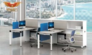 2017 New Design Modern Call Center Office Cubicles Workstation Partition with FSC Forest Certified Approved by SGS (H50-0215) pictures & photos