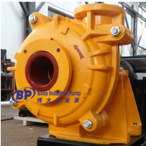 High Chrome Alloy Lined Slurry Pump pictures & photos