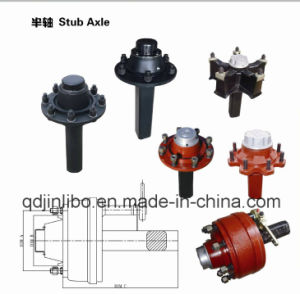 Trailer Parts Use Half Trailer Axle pictures & photos