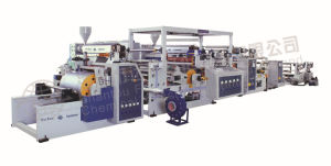 Dual-Extruder Extrusion Coating and Lamination Machine Model (SJ65-FMS800B)